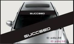 Наклейка. Toyota Succeed