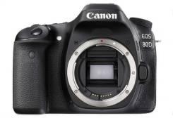 Canon EOS 80D. 20 и более Мп, зум: без зума
