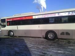 Реклама на автобусах, два борта за 1700. Акция печать, макет Бесплатно