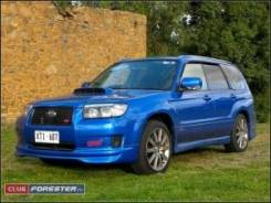 Обвес кузова аэродинамический. Subaru Forester, SG. Под заказ