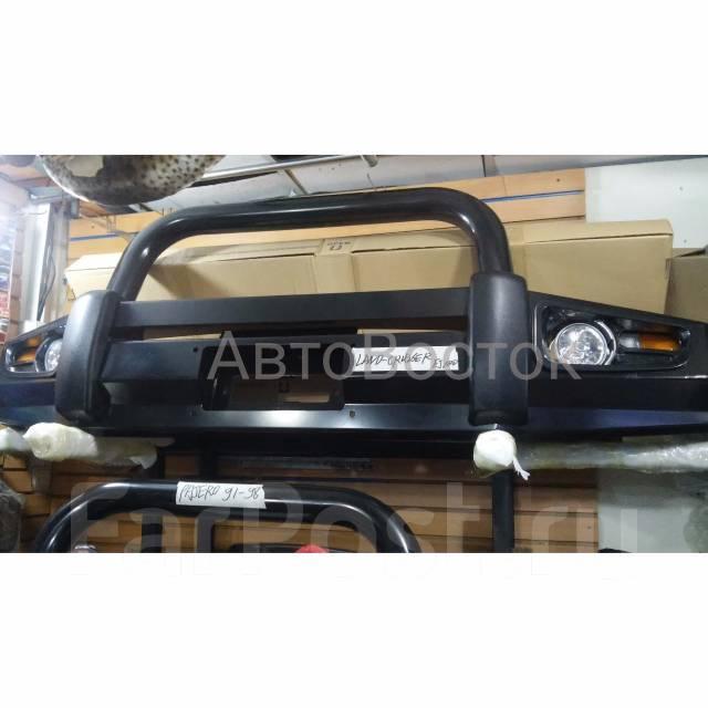 металлическая накладка на передний бампер митсубиси l200