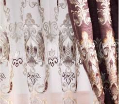 Лён шторы