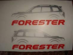 Наклейки на Subaru Forester(2).