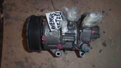Компрессор кондиционера. Toyota Avensis, ZZT251L Двигатель 1ZZFE