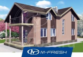 M-fresh California-зеркальный. 100-200 кв. м., 2 этажа, 5 комнат, каркас