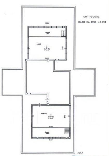 Офисные помещения 821,1 м. кв. в бизнес-центре, Пушкинская 40. Улица Пушкинская 40, р-н Центр, 821кв.м. План помещения