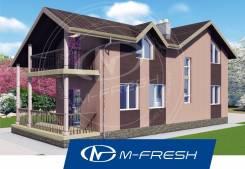 M-fresh California-зеркальный (Терраса, балкон, гостиная с камином! ). 100-200 кв. м., 2 этажа, 5 комнат, каркас