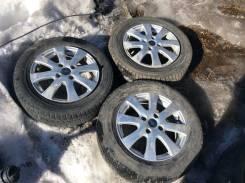 Оригинальные литые диски Ford Fusion R15 с резиной. x15 4x108.00