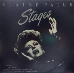 Elaine Paige, Stages, New Zealand 1983.
