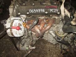 Двигатель в сборе. Nissan Serena, RC24 Двигатель QR25DE