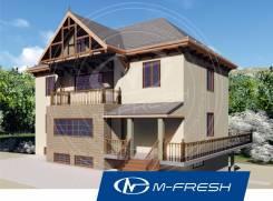 M-fresh Invite (Двухэтажный дом с эркером). 200-300 кв. м., 2 этажа, 5 комнат, бетон