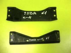 Жесткость под глушитель. Nissan Tiida, C11 Двигатель HR15DE