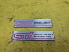 Эмблема. Subaru Impreza WRX STI, GDB Двигатель EJ207