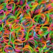 Резинки для плетения фенечек микс