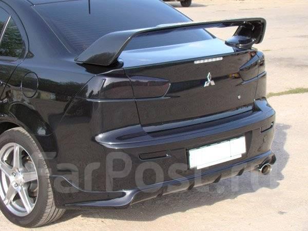 Обвес кузова аэродинамический. Mitsubishi Lancer, CY3A, CY, CY1A Двигатели: 4B10, 4A91, 4A92, 4B11