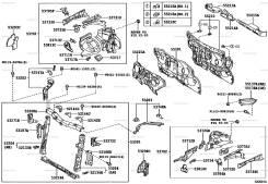 Рамка радиатора. Toyota Scion, AZE151 Toyota Corolla Rumion, AZE151, NZE151, NZE151N, ZRE152, ZRE152N, ZRE154, ZRE154N Scion xB, AZE151 Двигатели: 2AZ...