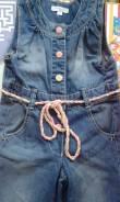 Полукомбинезоны джинсовые. Рост: 86-98 см