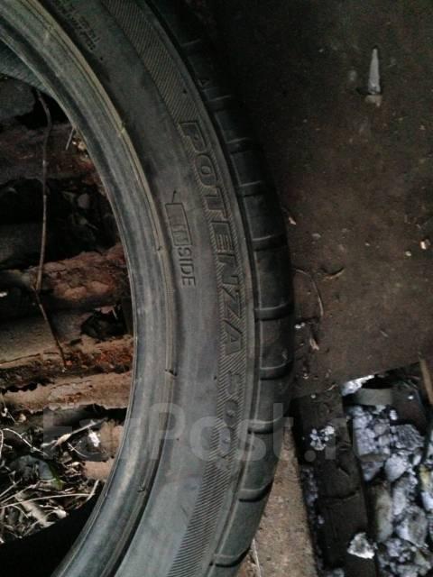 Bridgestone Potenza RE050. Летние, 2010 год, износ: 10%, 1 шт