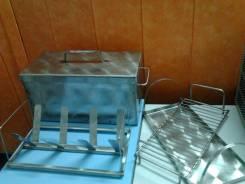 Шарабан коптилка для горячего копчения