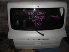 Дверь багажника. Suzuki Alto Lapin, HE21S