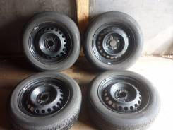 Комплект летних колёс Toyota 175/65R14. 5.5x14 4x100.00 ET45 ЦО 54,1мм.