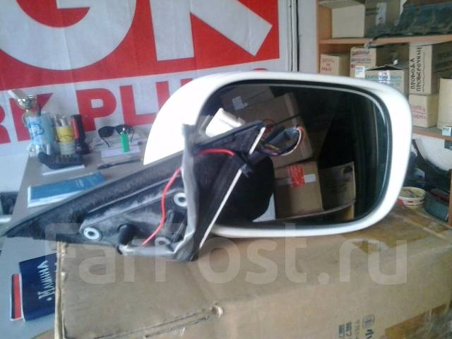 Зеркало заднего вида боковое. Toyota Crown, GRS180, GRS184