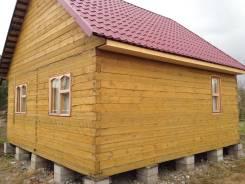 Новый дом из бруса рядом с озером. Дунай, р-н Дунай, площадь дома 36,0кв.м., площадь участка 600кв.м., централизованный водопровод, электричество...