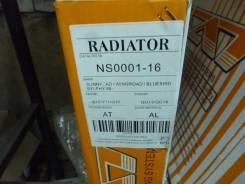 Радиатор охлаждения двигателя. Nissan: Bluebird Sylphy, AD, Almera, Sunny, Wingroad Двигатели: QG15DE, QG13DE, QG18DE, QG18DEN, QG18DD