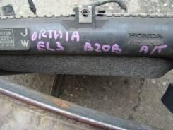 Радиатор охлаждения двигателя. Honda Orthia, EL2, EL3