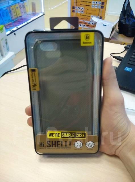 """Силикновый чехол-накладка для iPhone 6 PLUS 5.5"""" Baseus Tpu Case Прозрачный"""
