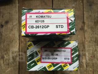 Вкладыши коренные. Komatsu