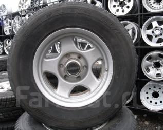 Шины Bridgestone 265/70R16 лето на литье Toyota Prado, Surf и т. д. 8.0x16 6x139.70 ET0