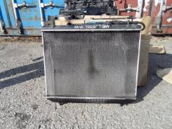 Радиатор охлаждения двигателя. Toyota Cami, J122E Двигатель K3VE