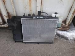 Радиатор охлаждения двигателя. Nissan Note, E11 Двигатель HR15DE