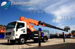 Jinwoo 320. Автовышка для установки на Камаз, МАЗ, Hyundai, Hino, Iveco, Isuzu, 32 м. Под заказ