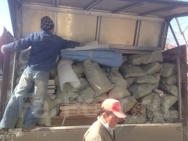 Вывоз Любого мусора, Фургон 3 тонн 10 кубов от 3000р, Догруз от 1000р