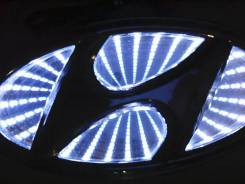 Логотип с подсветкой Hyundai. Hyundai. Под заказ