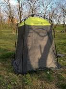 Палатки душ/туалет.
