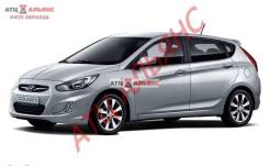Бампер HYUNDAI ACCENT, RB, 866501R210, 0030018400