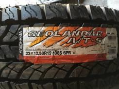 Yokohama Geolandar A/T G012. Летние, 2012 год, без износа, 4 шт