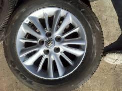 Комплект колес Тойота Toyo Proxes 215/60 R16. 7.0x16 5x114.30 ET50 ЦО 60,1мм.
