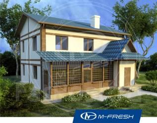 M-fresh Japan style (Покупайте сейчас проект со скидкой 20%! ). 200-300 кв. м., 2 этажа, 4 комнаты, бетон