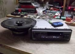 Олдскульная кассетная дека со съемной панелью Kenwood KRC-366 +AUX!