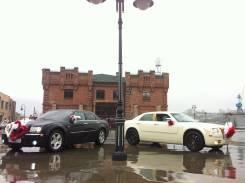 Аренда авто Chrysler 300C Rolls-Royce Style белый и чёрный перламутр!