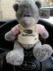 Медведь Мишка Teddy Subaru STI Субару хороший подарок