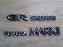 Эмблема. Toyota Mark II, GX81, LX80, SX80