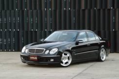 Обвес кузова аэродинамический. Mercedes-Benz E-Class, W211
