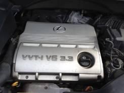 Двигатель в сборе. Lexus RX330, MCU38 Двигатель 3MZFE