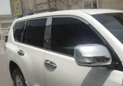 Накладка на зеркало. Toyota Land Cruiser Prado, GDJ150L, GRJ151, GDJ150W, GRJ150, GRJ150L, GDJ151W, GRJ150W, GRJ151W. Под заказ