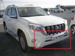 Накладка на бампер. Toyota Land Cruiser Prado, GDJ150L, GRJ151, GDJ150W, GRJ150, GRJ150L, GDJ151W, TRJ150, KDJ150L, GRJ150W, GRJ151W, TRJ150W. Под зак...